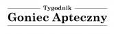 Goniec Apteczny - logo czarne