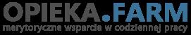 Portal opieka.farm - logo kolor